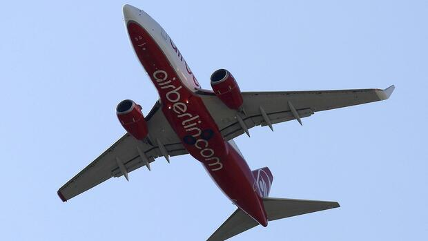 Air Berlin. Quelle: REUTERS