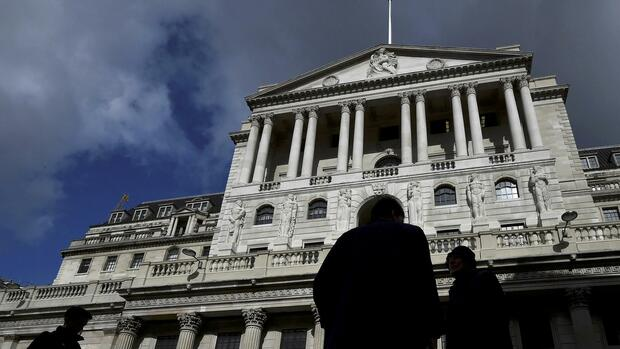 Bank of England in London Quelle: REUTERS