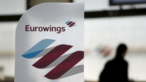 Eurowings: Warnstreik in Düsseldorf Quelle: REUTERS