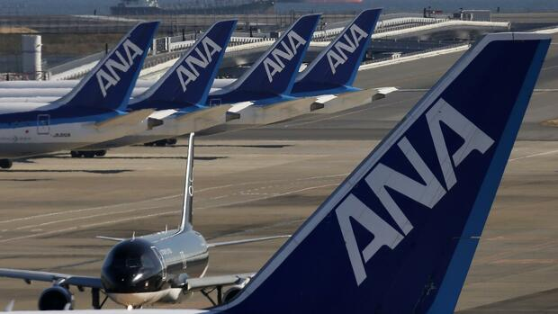 ANA All Nippon Airways Quelle: REUTERS