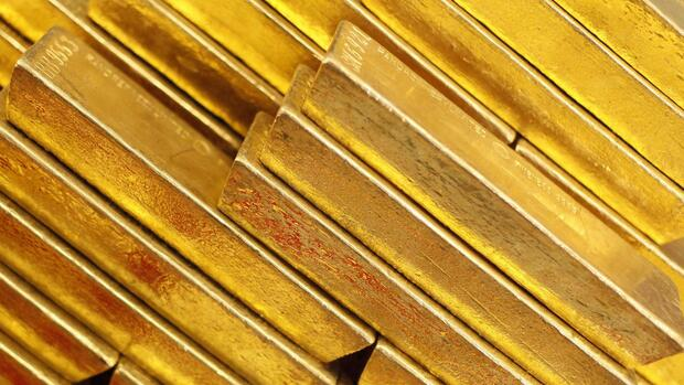 Goldbarren Quelle: REUTERS