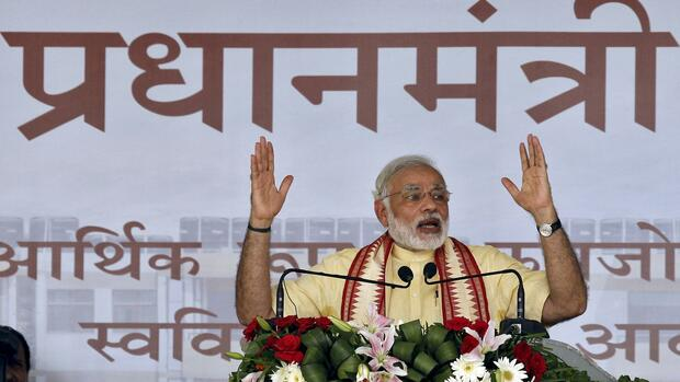 Indian Prime Minister Narendra Modi Quelle: REUTERS