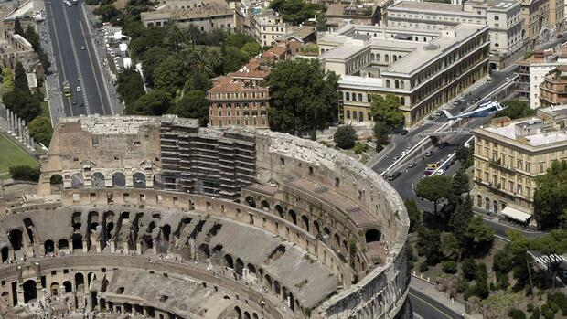 Das Colosseum Quelle: REUTERS