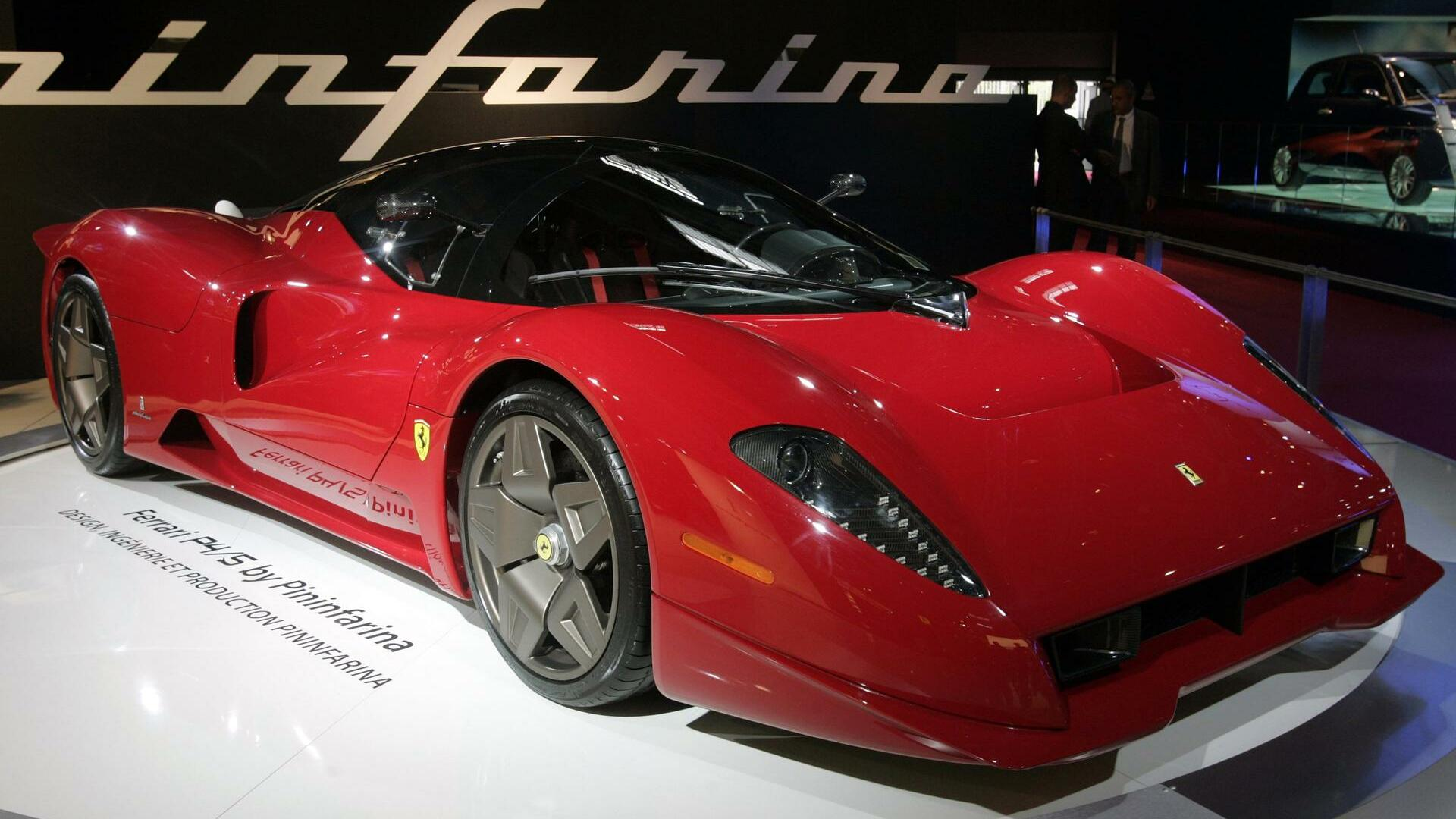 A Ferrari P4/5, designed by Pininfarina Quelle: REUTERS