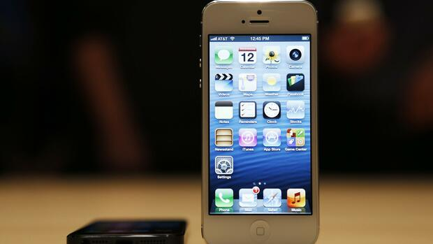 iPhone 5 Quelle: REUTERS
