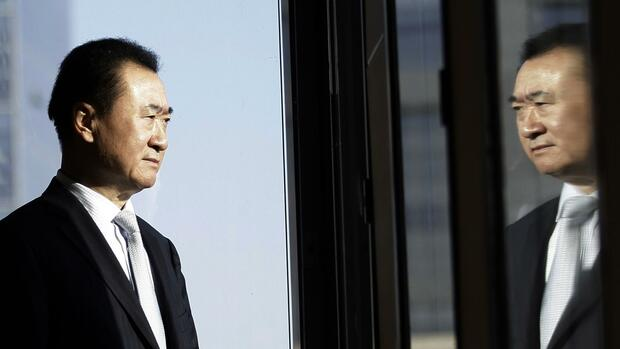 Wang Jianlin, Besitzer der Dalian Wanda Group Quelle: REUTERS