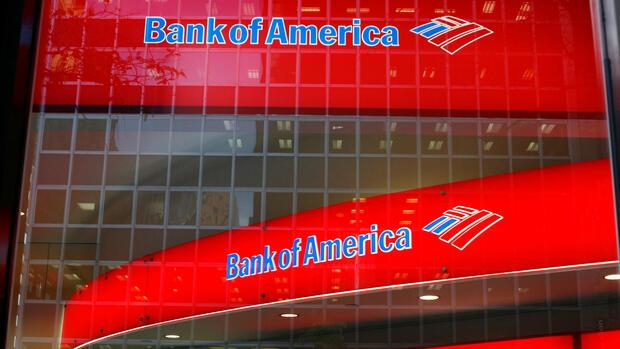 Bank of America steigert Gewinn um 40 Prozent