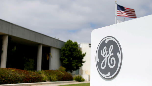 Das Logo von General Electric Quelle: REUTERS