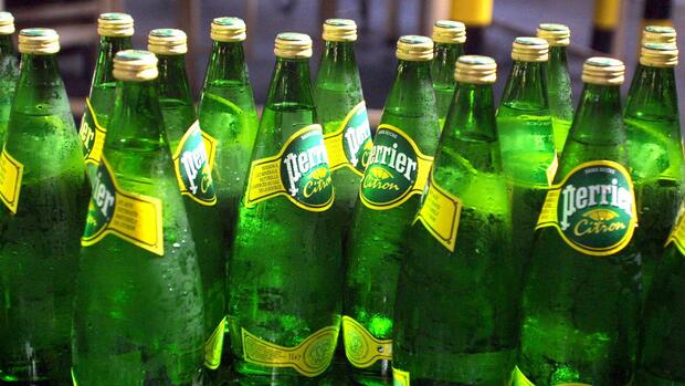 Perrier-Flaschen Quelle: Reuters