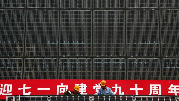 Solaranlagen aus China Quelle: REUTERS