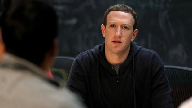 Facebook CEO Mark Zuckerberg Quelle: AP