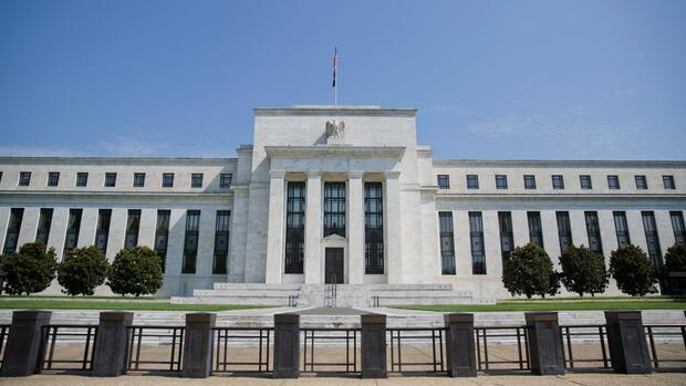 Die US-Notenbank Federal Reserve in Washington. Quelle: AP
