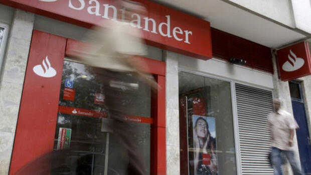 Filiale der Bank Santander Quelle: REUTERS