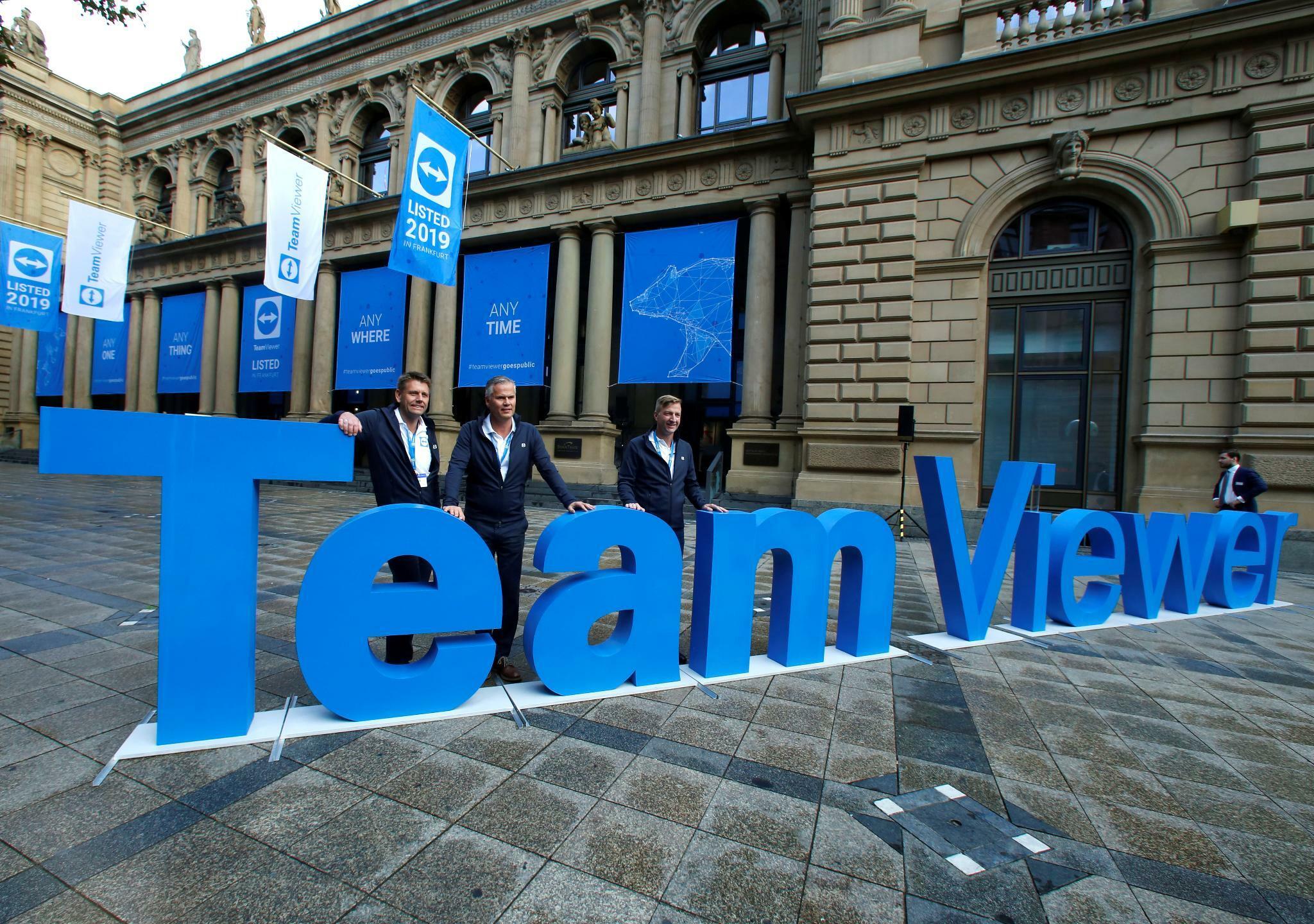 Teamviewer Aktie mit durchwachsenem Börsenstart