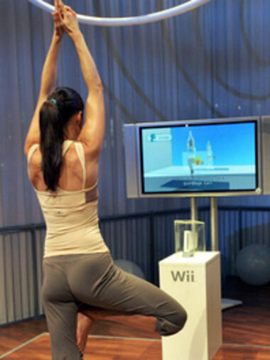 Fitness per Spielekonsole Quelle: obs
