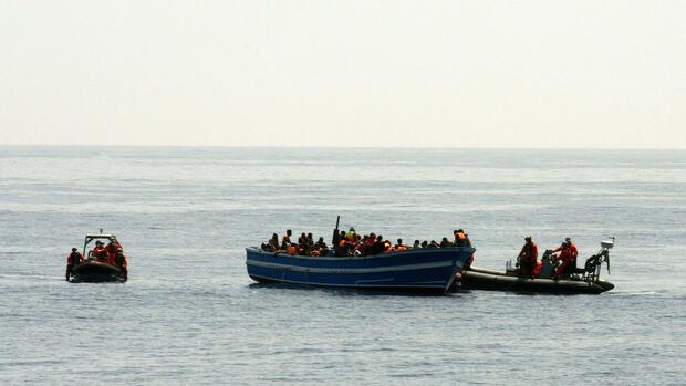 Mit Dem Boot Ins Mittelmeer