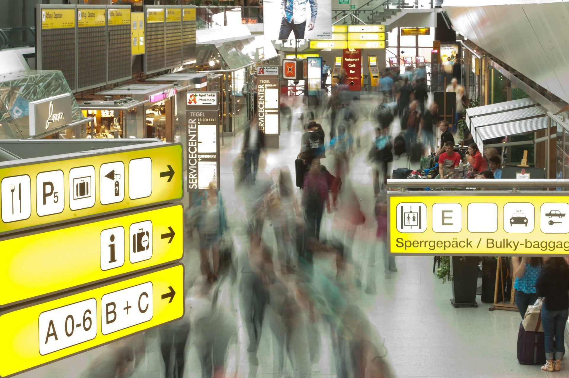 Werner Knallhart Flughafen Berlin Tegel Deutschlands