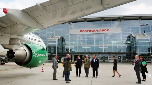Regionalflughäfen nach Airline-Pleiten in Gefahr
