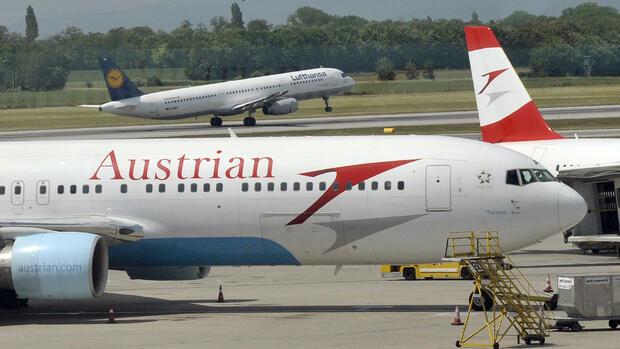 Bei Austrian Airlines fallen viele Flüge aus