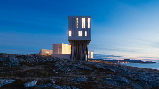 Hotel Fogo Island Inn Quelle: National Geographic Travel