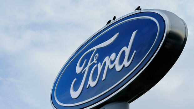 the Ford logo is displayed at an auto dealership Quelle: dapd