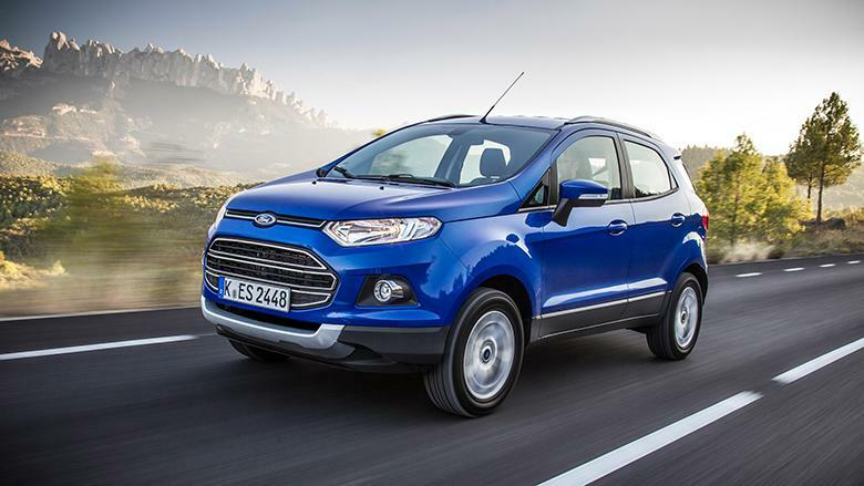 Ford Ecosport Quelle: Ford