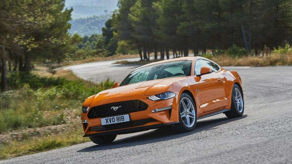 Ford Mustang 2018 Quelle: Ford