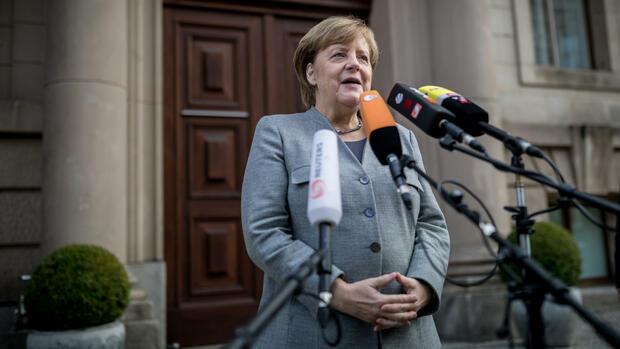 Merkel äußert sich optimistisch über Jamaika-Aussichten