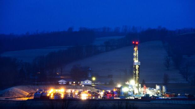 Fracking in Pennsylvania Quelle: dpa
