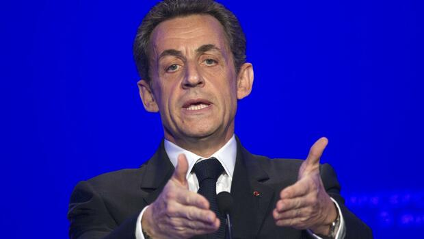 France's President and UMP party candidate for the 2012 French presidential elections Nicolas Sarkozy Quelle: REUTERS
