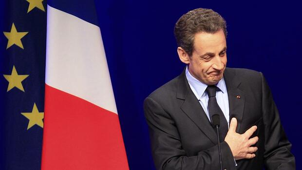 President and UMP party candidate for the 2012 French presidential elections Nicolas Sarkozy Quelle: REUTERS