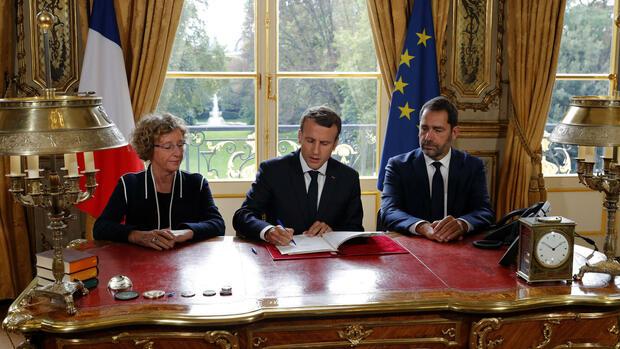 Gelockertes Arbeitsrecht: Macron beschließt erste große Reform