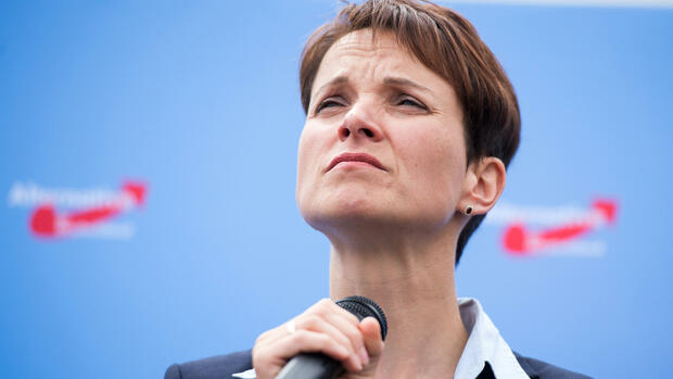 Frauke Petry (AfD) Quelle: dpa