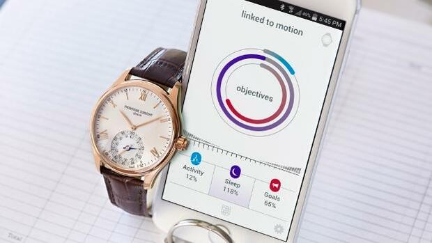 Frédérique Constant Horological Smartwatch Quelle: Screenshot