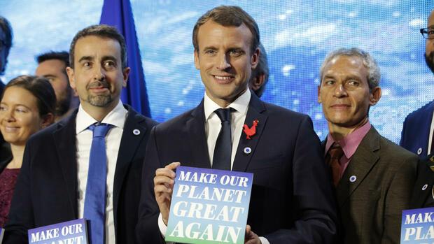 Macron erinnert Trump an