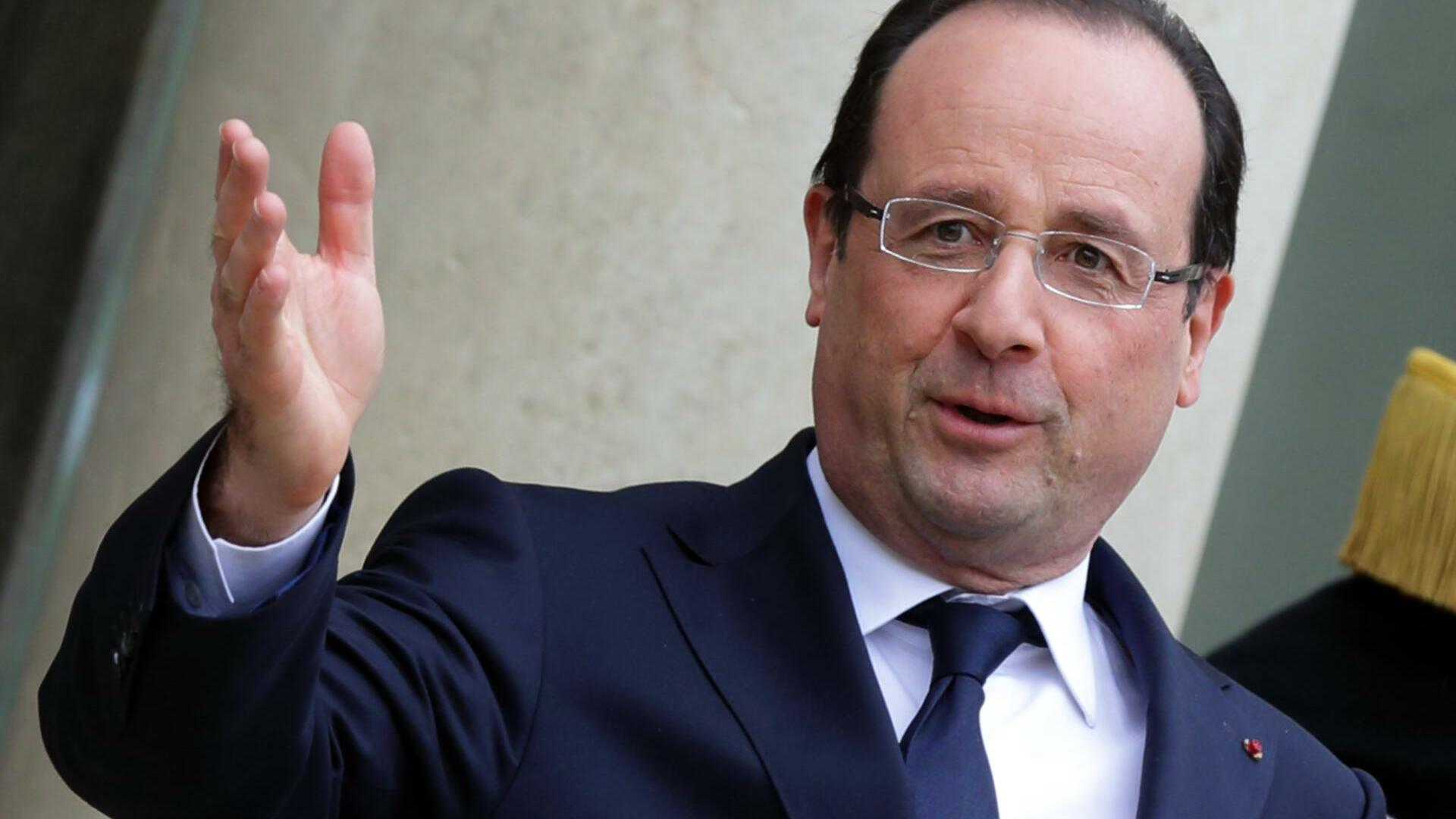 François Hollande Quelle: REUTERS