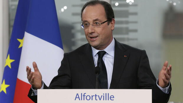 Francois hollande Quelle: dpa