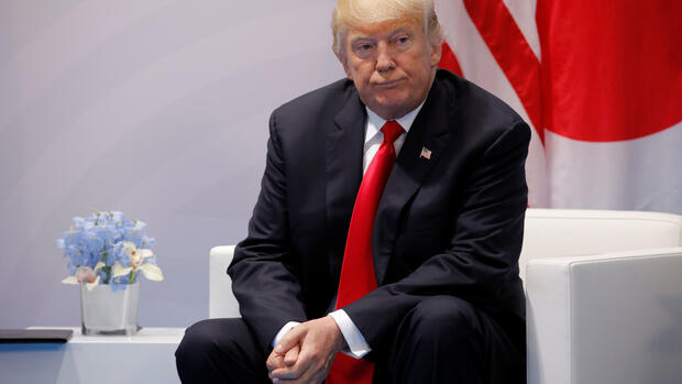 US-Präsident Donald Trump Quelle: REUTERS