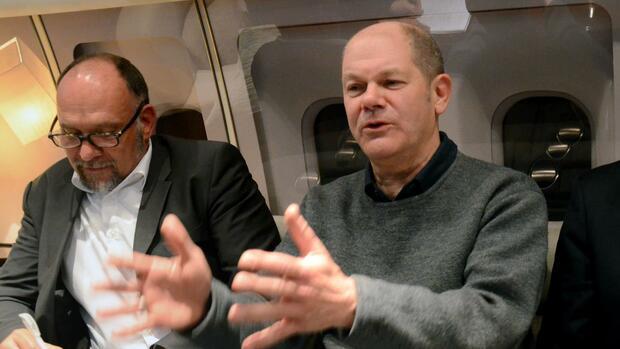 Bundesfinanzminister Olaf Scholz Quelle dpa