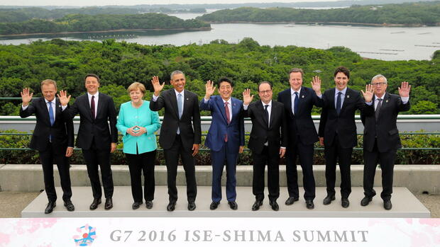 G7-Gipfel in Japan Quelle: dpa