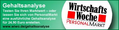 Personalmarkt Gehaltsanalyse