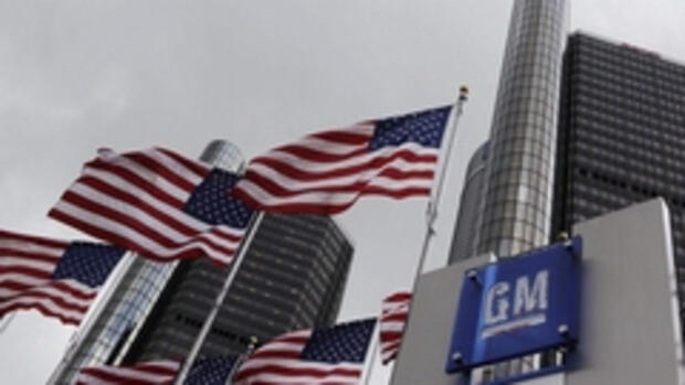 General Motors Headquarter in Quelle: AP