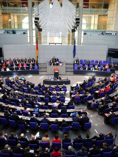 Bundestag Generaldebatte