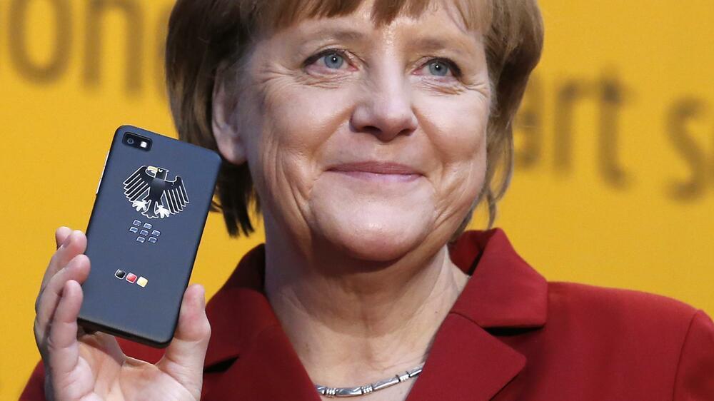 Angela Merkel Handy