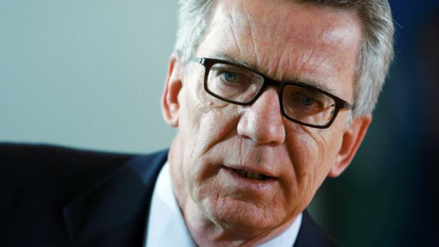 Thomas de Maizière Quelle: REUTERS