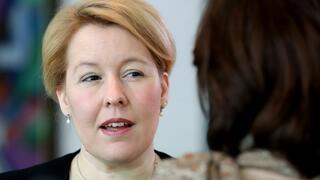 Bundesjugendministerin: Giffey für Absenkung des Wahlalters auf 16