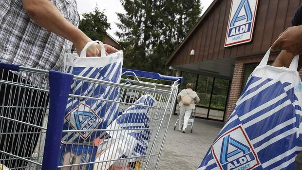 Aldi-Filiale Quelle: REUTERS