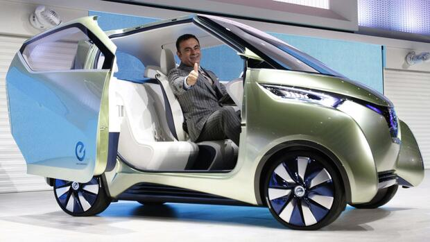 Nissan Concept Car PIVO3 Quelle: REUTERS