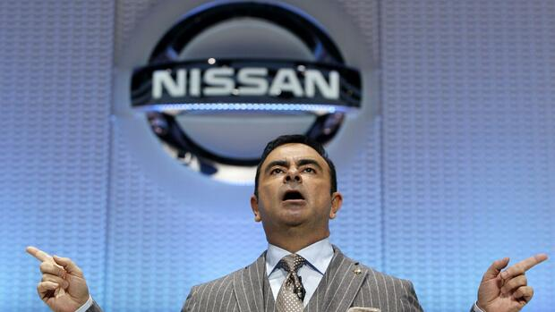 Renault-Nissan-Chef Carlos Ghosn. Quelle: REUTERS