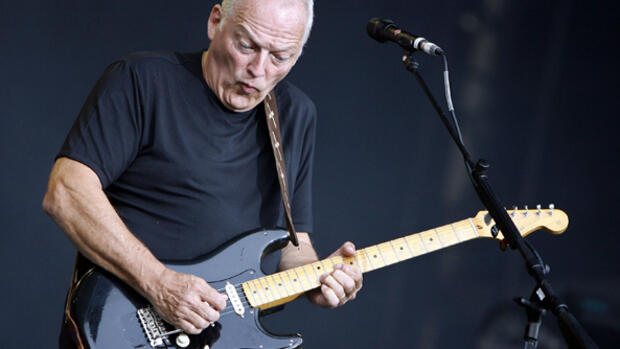 David Gilmour Quelle: dpa